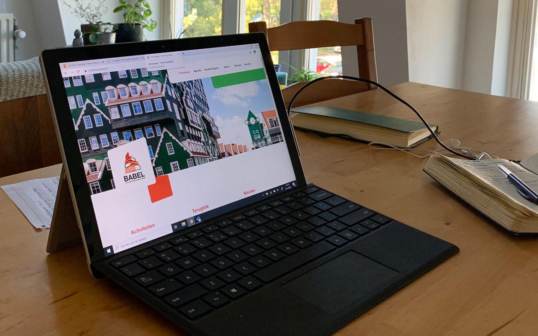 Babel blogt over het nieuwe wonen en werken